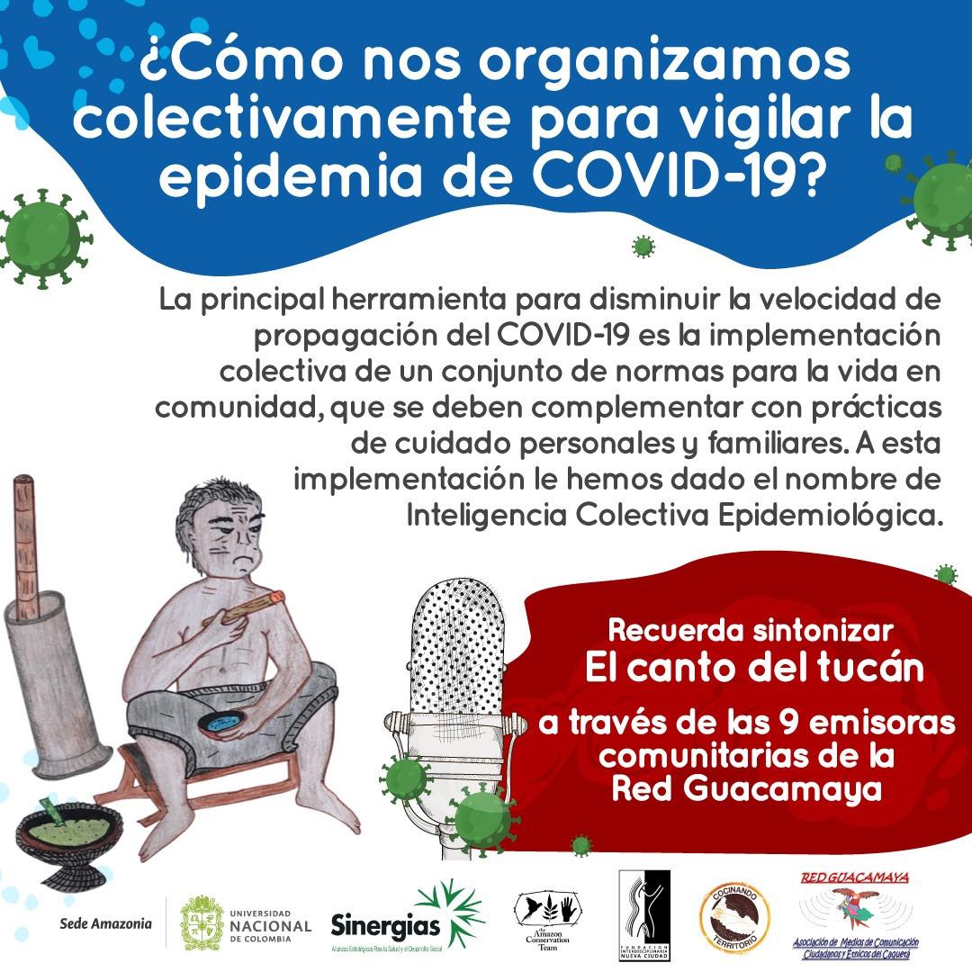 ¿Cómo nos organizamos colectivamente para vigilar la epidemia de COVID-19?