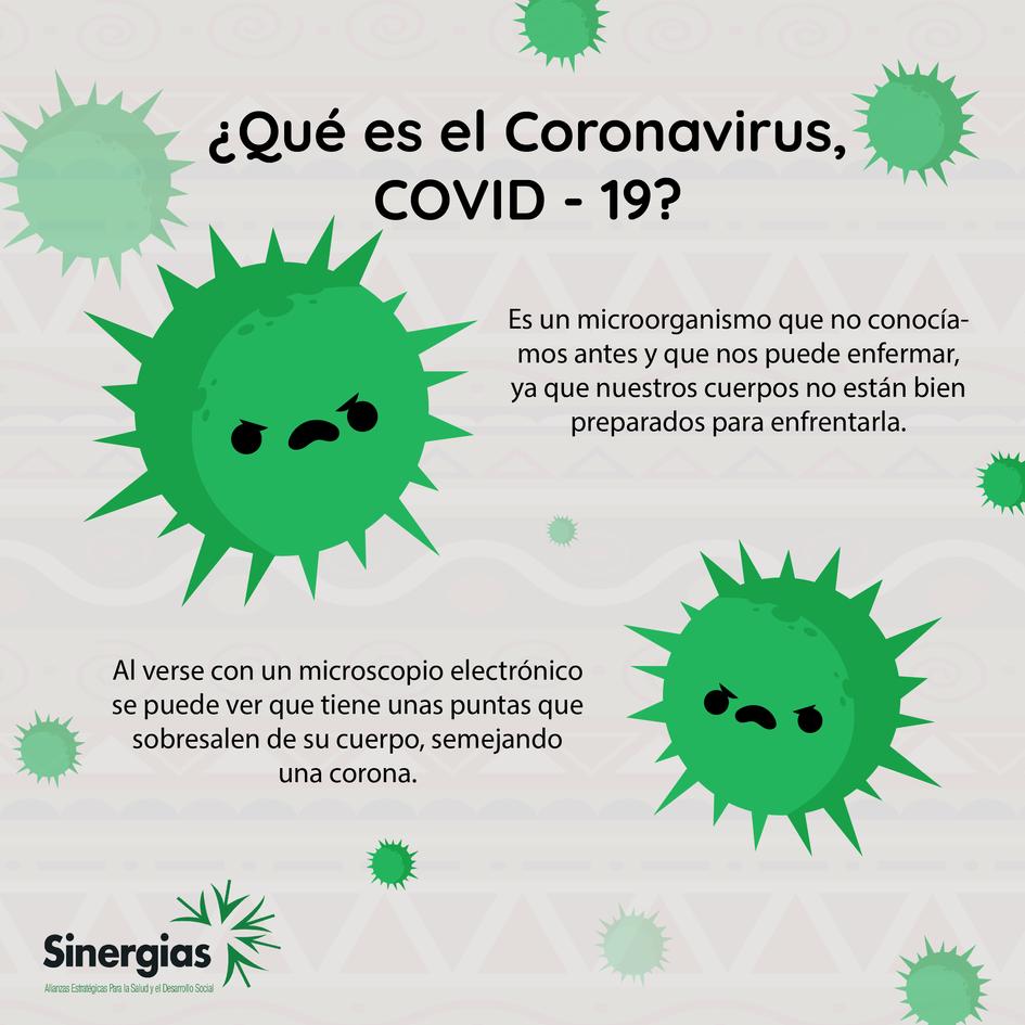 ¿Qué es COVID-19?