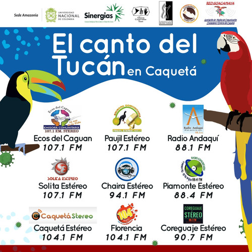 Emisoras que difundieron El canto del tucán en Caquetá