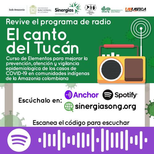 El canto del tucán Amazonas, disponible en Spotify y Anchor