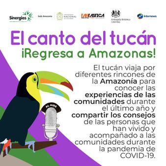 El canto del tucán regresa a Amazonas