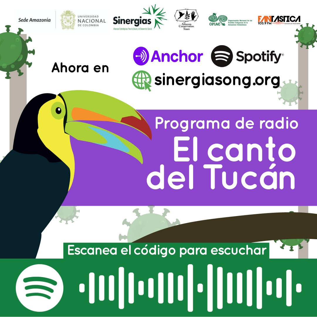 El canto del tucán, disponible en Spotify y Anchor