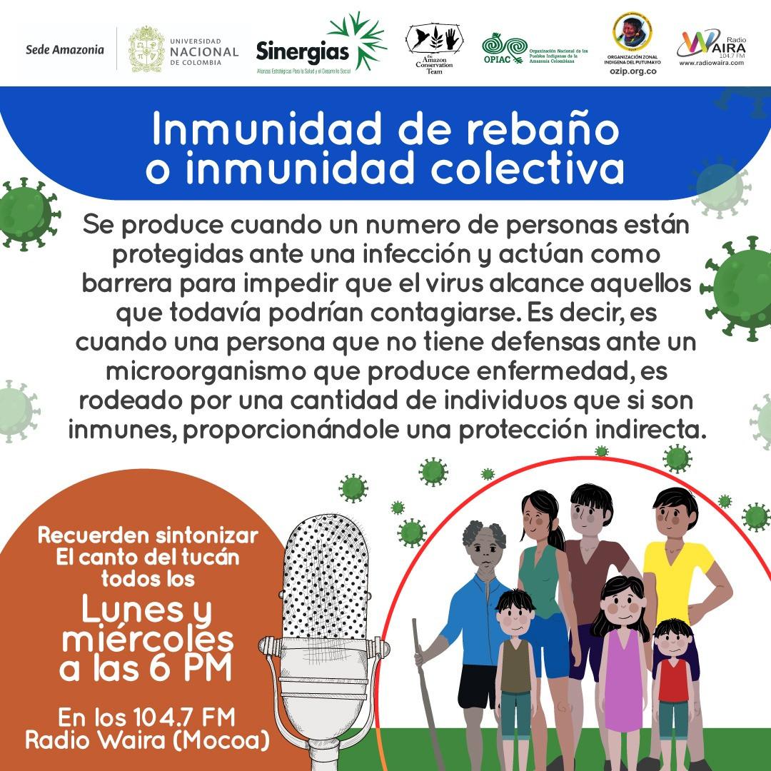 Inmunidad de rebaño o inmunidad colectiva