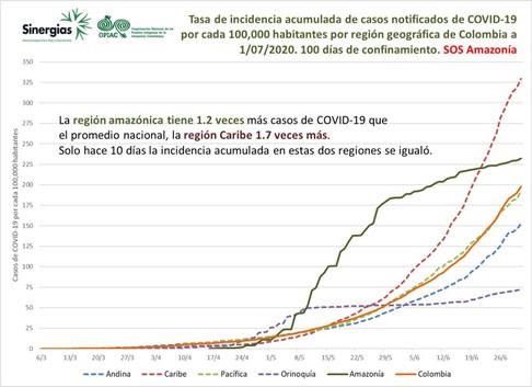 Tasa de incidencia acumulada de casos notificados de COVID-19 - 01/07/20