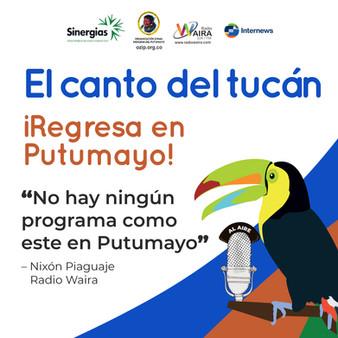 El canto del tucán regresa a Putumayo