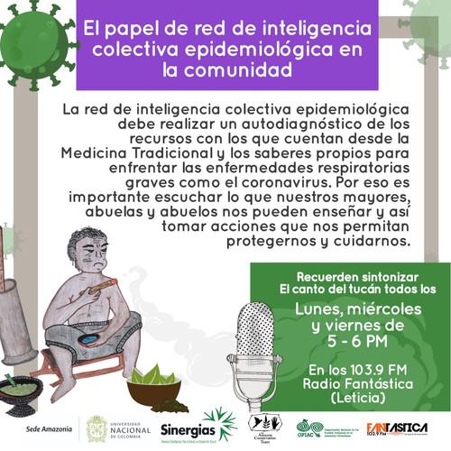 El papel de la red de intelgencia colectiva epidemiológica en la comunidad