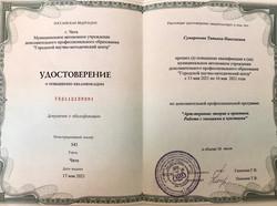 сертификат арт 2021