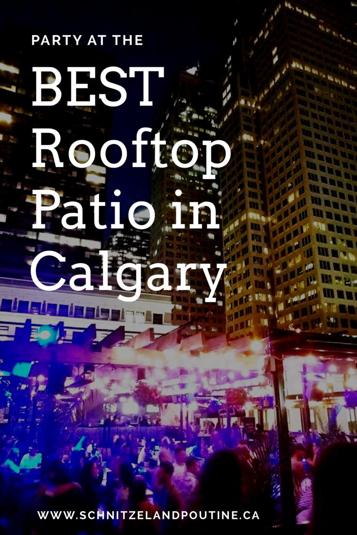 Best Rooftop Patio in Calgary