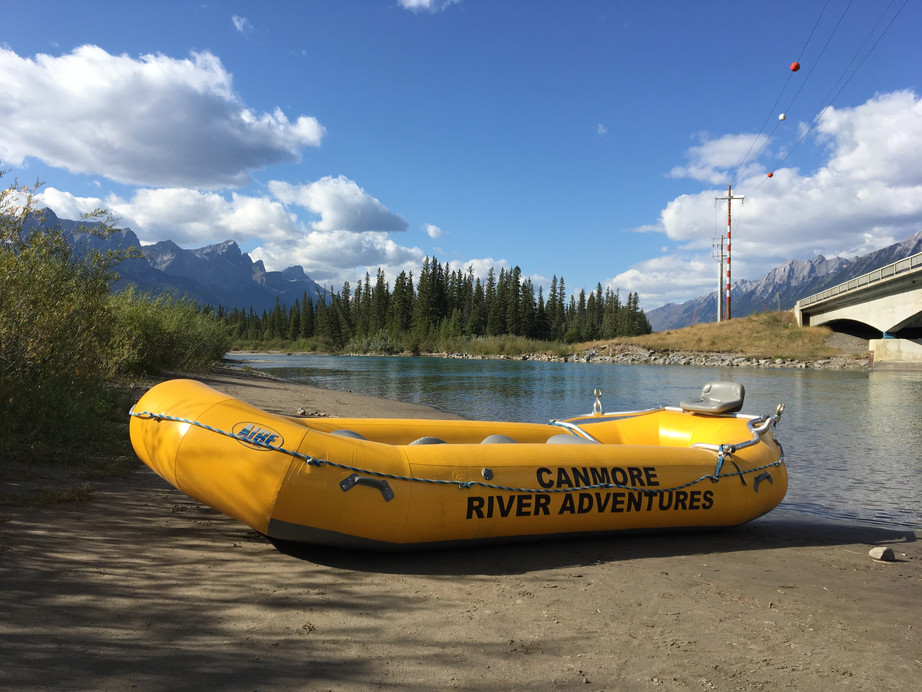 Floating on the Bow with Canmore River Adventures