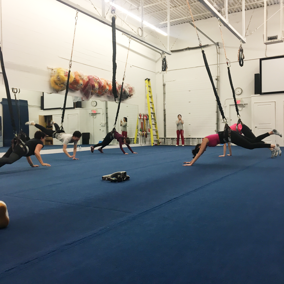Jumping into the Holiday season with Bungee Workout Canada