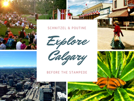 Explore Calgary before the Stampede