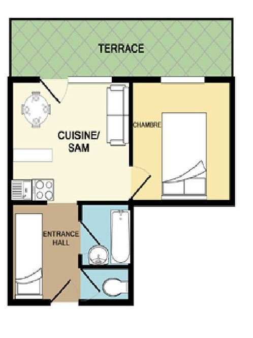 2D Floor plans apartment