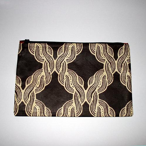 Brown Braid purse