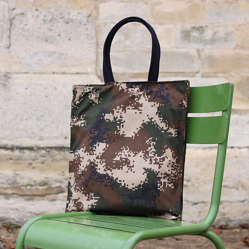 Camou Green Tote