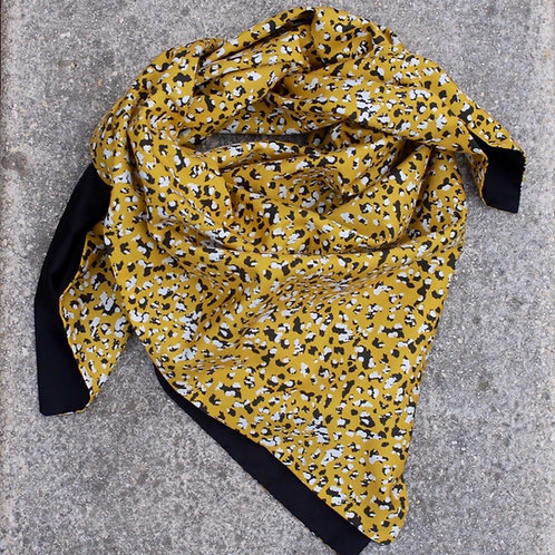 Sunflower yellow scarf