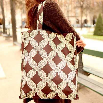 Brown Braid bag