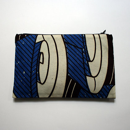 Blue Coils purse