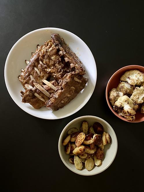 Costelinhas BBQ | refrigeradas | 1kg |  4-5 pax