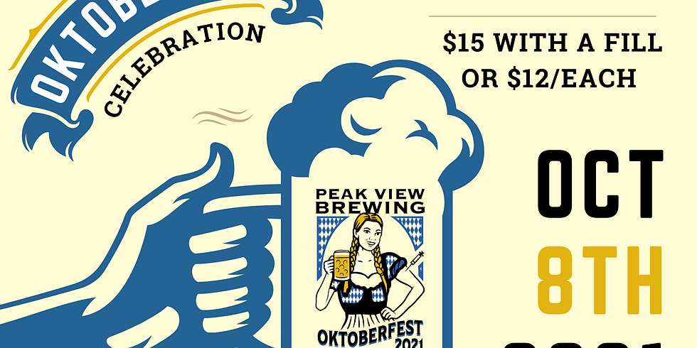 Oktoberfest Keep the Stein Event at Peak View Brewing