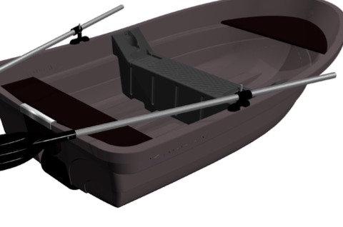 Сиденье пластиковое RKM-250 с креплением
