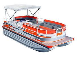 Понтонные лодки катера Колибри