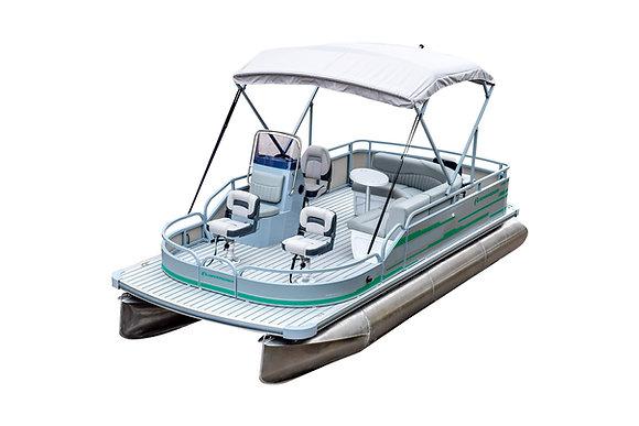 Понтонный катер рыболовный RIVERDAY P600 FISH