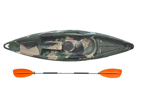 Рыболовный каяк Riverday ONWAVE-300 CAMO колибри