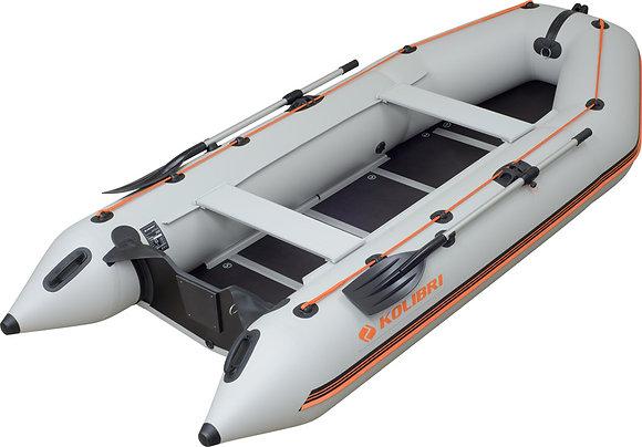 надувная моторная килевая лодка КОЛИБРИКМ-360D