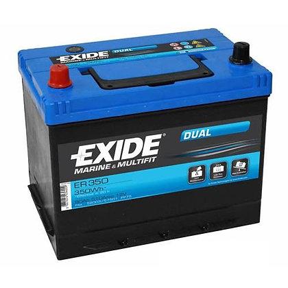 EXIDE ER 350 аккумулятор двойного назначения