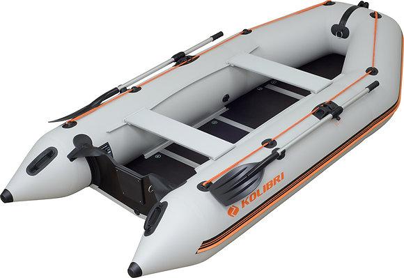 Надувная моторная килевая лодка КОЛИБРИ КМ-330D