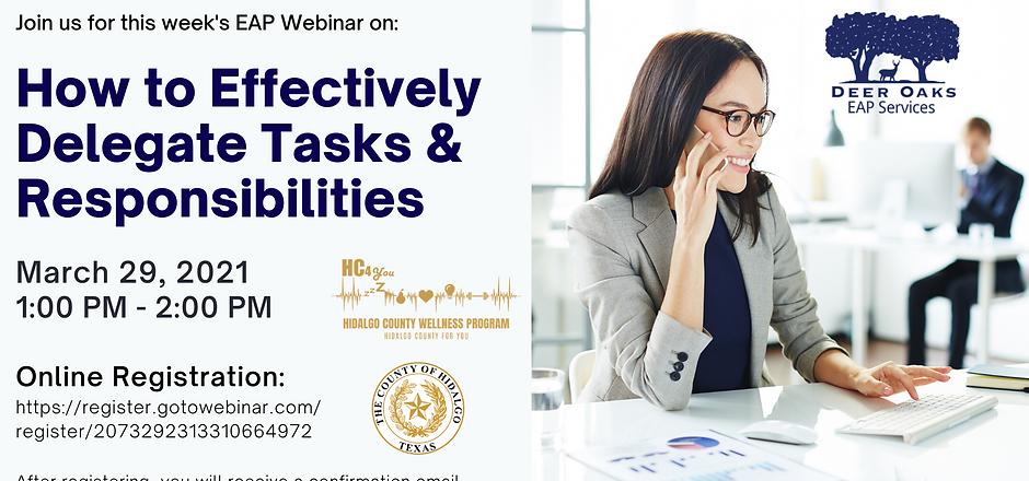 How to Effectively Delegate Tasks Respon