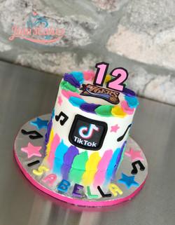 Tiktok girly cake