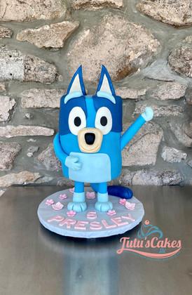 Bluey  theme cake