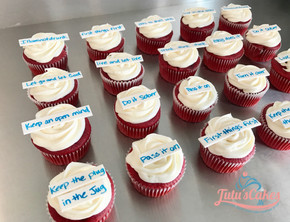 Alcoholics anonymous cupcakes