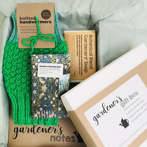 GARDENER'S GIFT BOX with greetings card