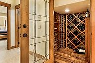 Wine cellar by Stryker Brown Architects in Aspen