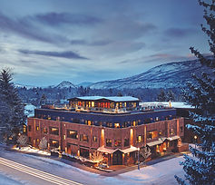 The Dancing Bear, designed by Stryker Brown Architects in Aspen, CO