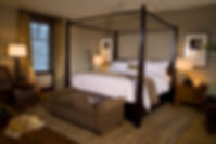 Luxurious bedroom at 8050 in Mammoth, CA