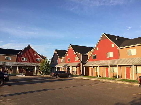 Town homes in Williston, North Dakota