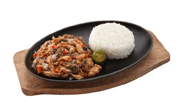 PM3 - Bangus Sisig with Rice (Solo)