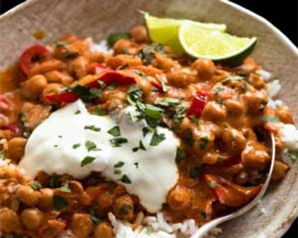 Chili Chickpea Curry