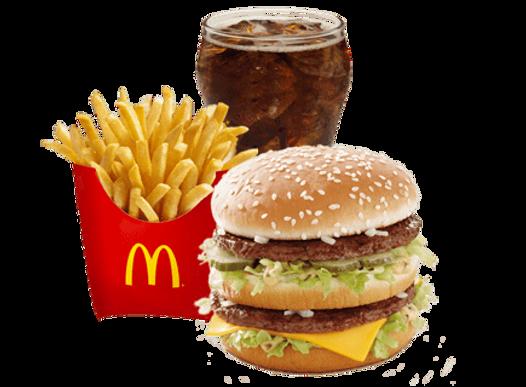 Big Mac +Drinks +Reg.Fries
