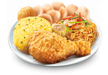 Chinese Style Fried Chicken Lauriat