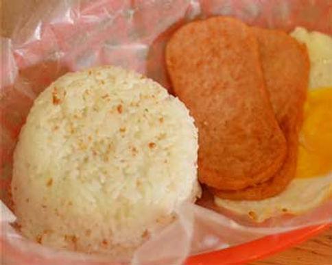 SpamSilog (Spam, Rice and Egg)