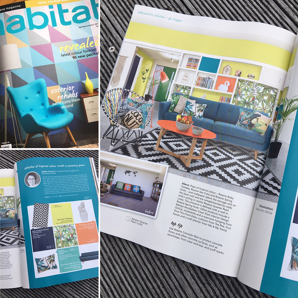 interior design colours for summer