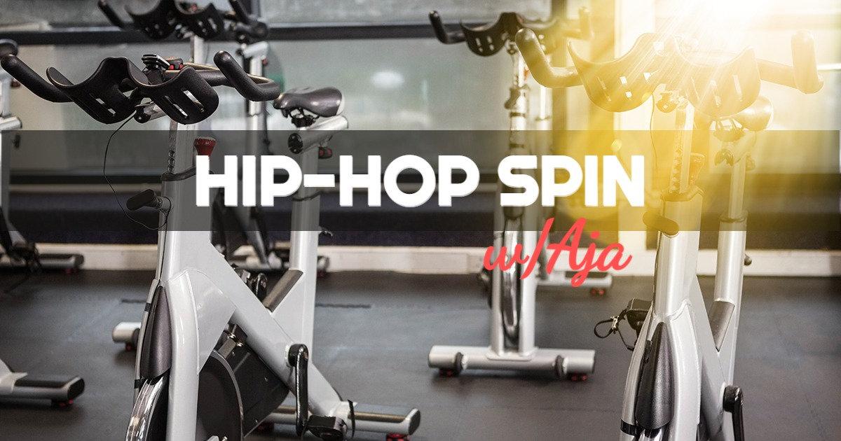 Hip Hop Spin w/Aja (Virtual)