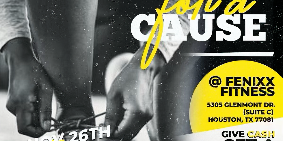 Cynthia A. Guillory Foundation 5TH ANNUAL SWEAT FOR A CAUSE