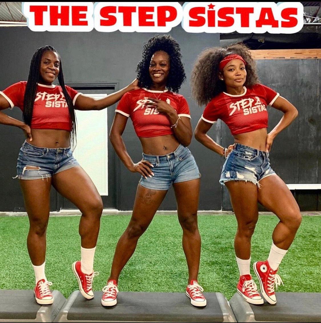 VIRTUAL Step w/ THE STEP SISTAS