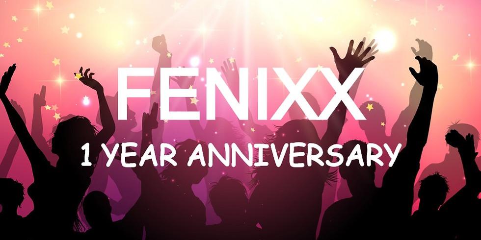 FeNixx 1 Year Anniversary Party