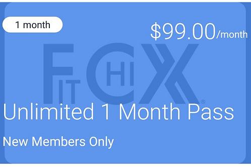 1st Month New Membership